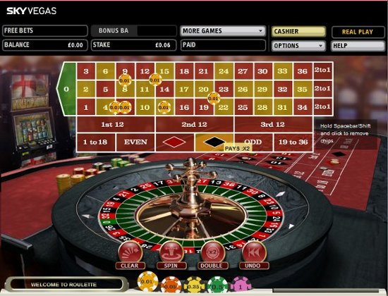 Live roulette sky online gambling links and internet gambling