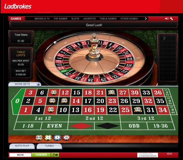 Ladbrokes roulette games poker software advice
